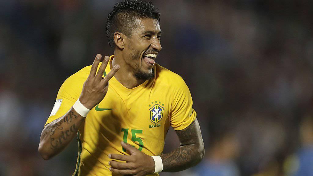 Paulinho - der neue Brasilianer beim FC Barcelona