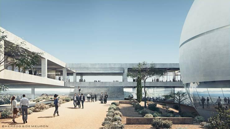 Herzog & de Meuron bauen für das Berggruen Institute einen spektakulären Campus in den Bergen bei Los Angeles