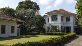 Blick auf die Schweizer Botschaft in Colombo.