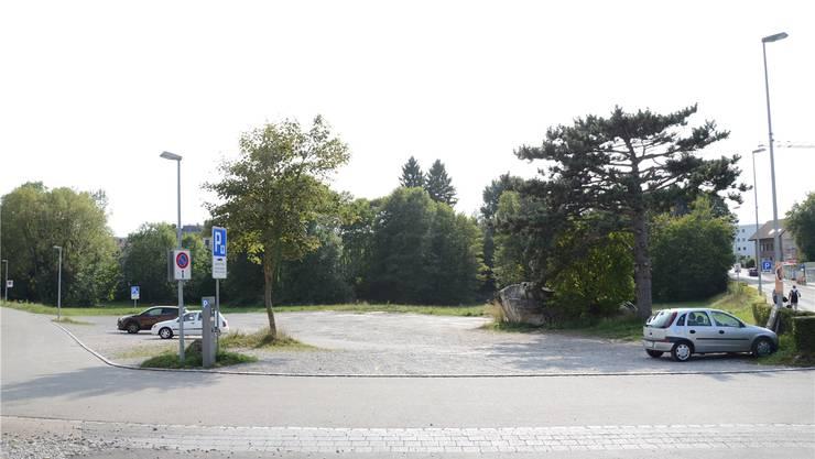 Jacob Isler-Areal in Wohlen: Die Planung kann jetzt weitergehen. archiv/ian
