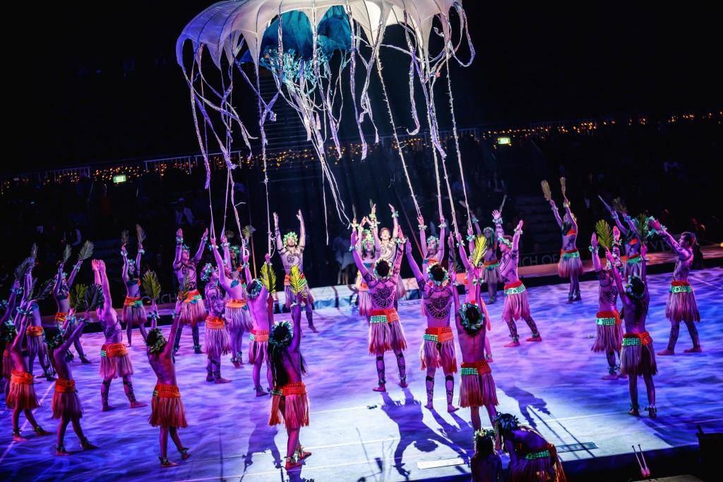 Die Tanz- und Akrobatikgruppe Zurcaroh (© zVg)