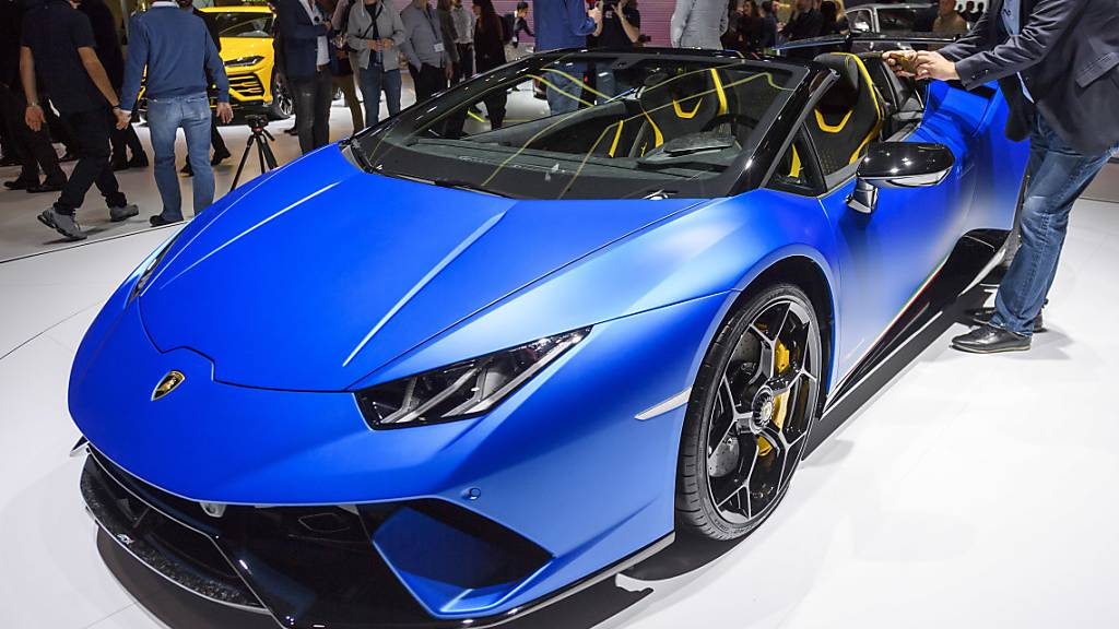 Papst-Lamborghini versteigert - fast 900'000 Euro Erlös