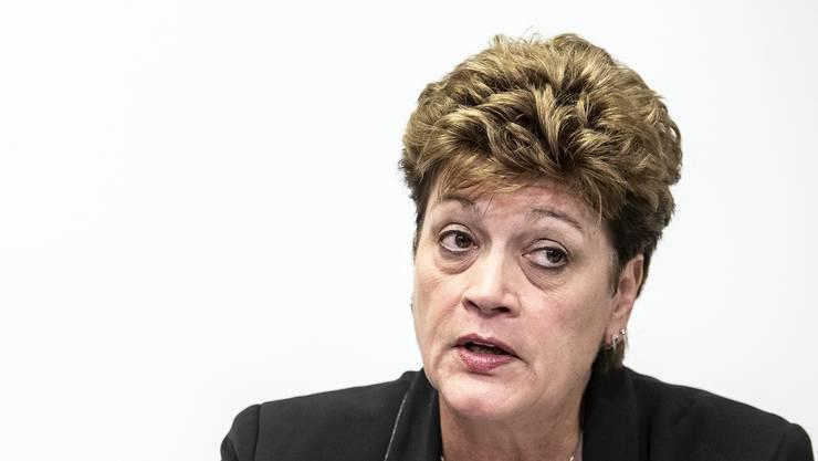 Die Zürcher Regierungsrätin Silvia Steiner ist Vorsteherin der Bildungsdirektion, sowie aktuelle Präsidentin der Schweizerischen Konferenz der kantonalen Erziehungsdirektoren. (Archivbild)