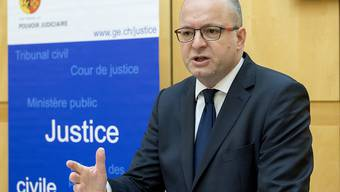 Der Genfer Generalstaatsanwalt Olivier Jornot hat am Donnerstag Verfahren im Zuge der Panama Papers angekündigt.