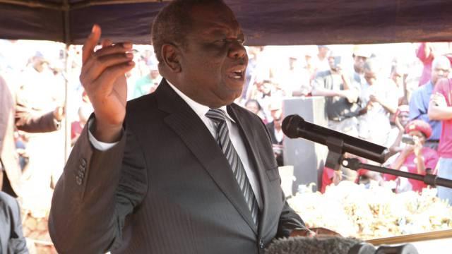 MDC-Präsident Morgan Tsvangirai (Archiv)