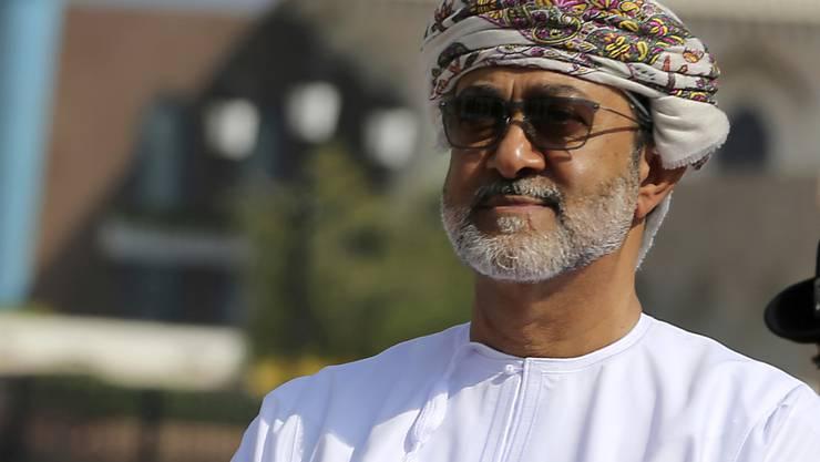 Neuer Sultan von Oman ist Haitham bin Tarik al Said, der Cousin des Verstorbenen und bisherige Kulturminister des Landes. (Archivbild)