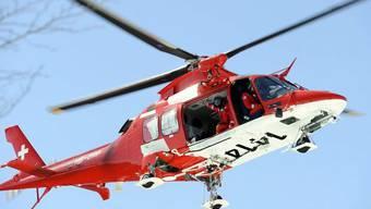 Die Rega flog die verletzte Schülerin ins Spital (Symbolbild)