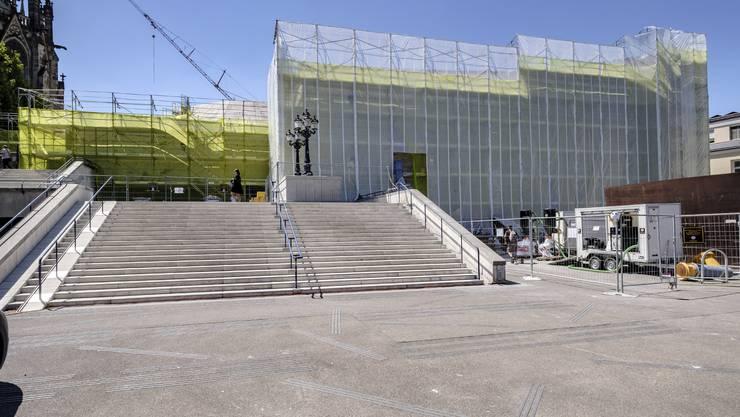 Trotz Baustelle: Das Theater Basel eröffnet die Saison 2020/21