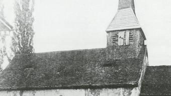 Das Margaretenkirchlein einen Tag vor seinem Abbruch 1889. (BIld: zvg/Gebenstorfer Ortsgeschichte)