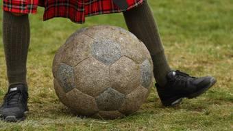 Fussball in Schottland.