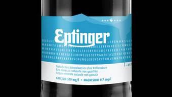 So sieht die neue Eptinger-Flasche aus Glas aus