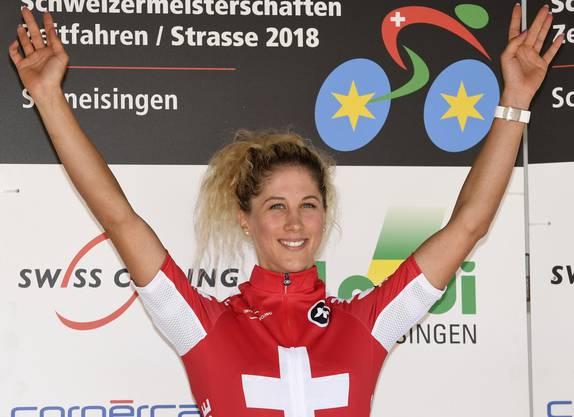 Jolanda Neff gewann bei den Frauen.