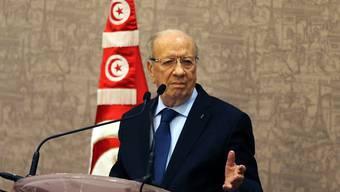 Intensivierte Beziehungen: Tunesiens Präsident Caïd Essebsi besucht am Mittwoch die Schweiz (Archiv).