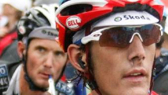 Glück im Unglück: Andy Schleck