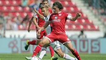 Mainz 05 hat sich wieder gefangen (im Hintergrund zu sehen ist Neuzugang und Ex-FCB-Spieler Fabian Frei).