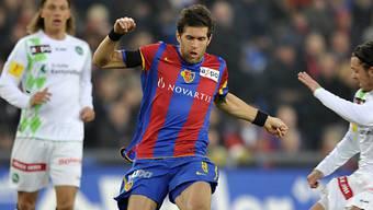 Huggel eröffnete das Skore für Basel