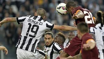Bonucci sicherte der Juve den Sieg in einem umkämpften Spitzenspiel