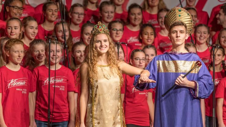 Eine Szene aus dem Musical «Esther».