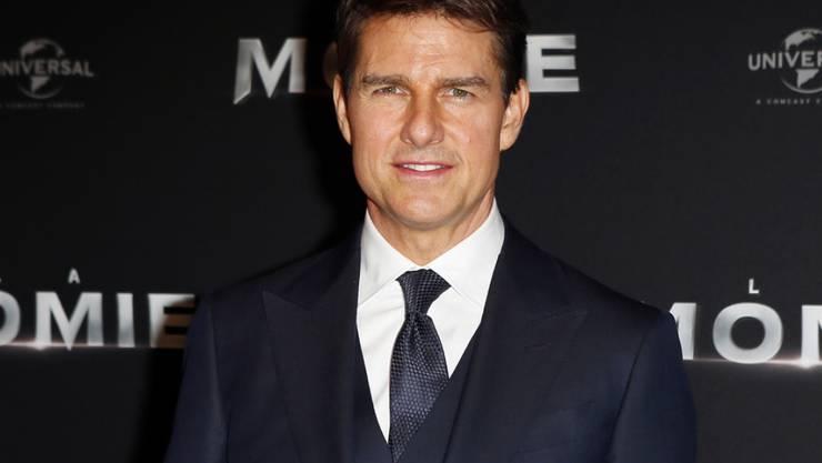 """Tom Cruise spielt in der US-Komödie """"American Made"""" die Hauptrolle. Der Film übernahm am Wochenende vom 7. bis 10. September 2017 die Spitze der Deutschschweizer Kinocharts. (Archiv)"""