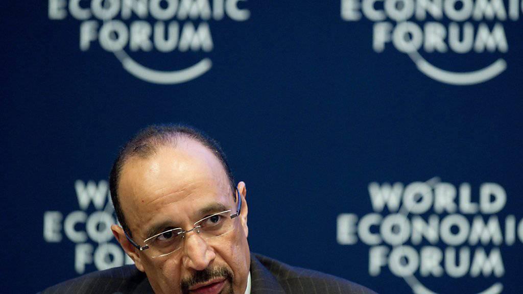 Der Verwaltungsratspräsident des saudischen Ölriesen Saudi Aramco, Chalid al-Falih, schliesst einen Verkauf von Energiereserven bei einem Börsengang des Unternehmens aus. (Archiv)