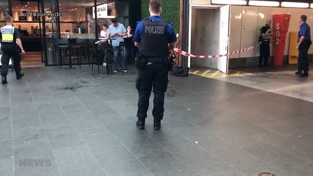Messerstecherei in Oltner Bahnhof