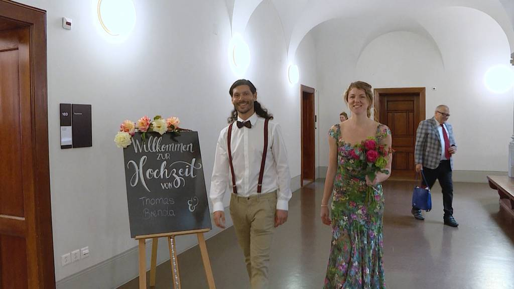 Coronavirus bremst Hochzeiten: Nur halb so viele Trauungen