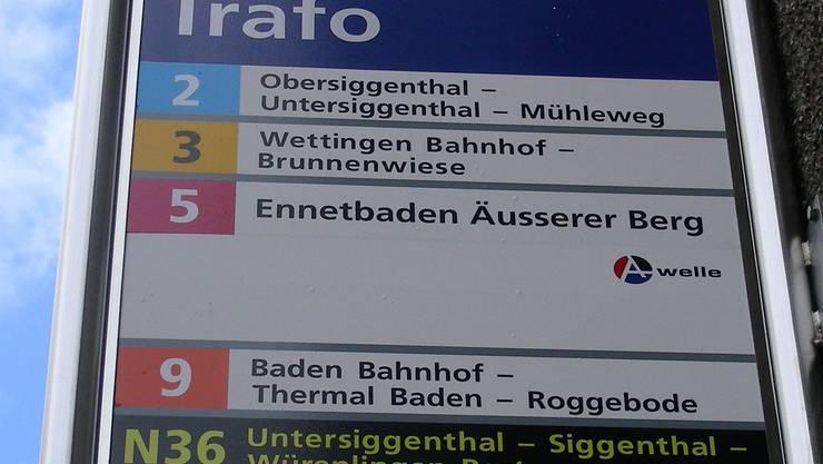 Mit einem «N» sind die Linien der Nachtbusse bezeichnet. DM