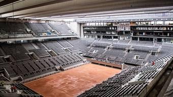 Vorderhand kein Tennis-Betrieb auf dem neuen Court Philippe Chatrier