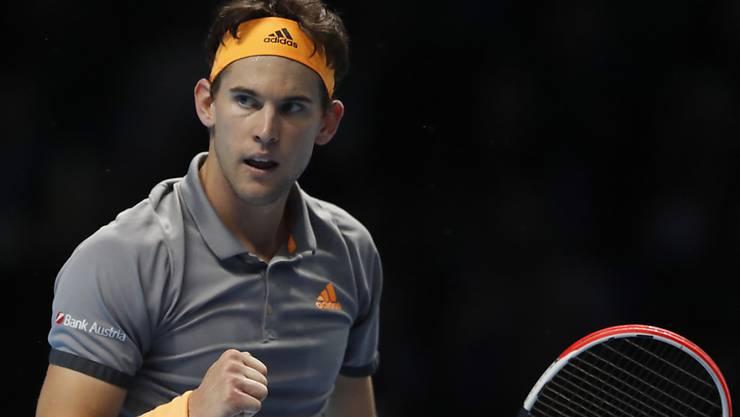 In London ganz stark unterwegs: Dominic Thiem steht als erster Spieler in den Halbfinals