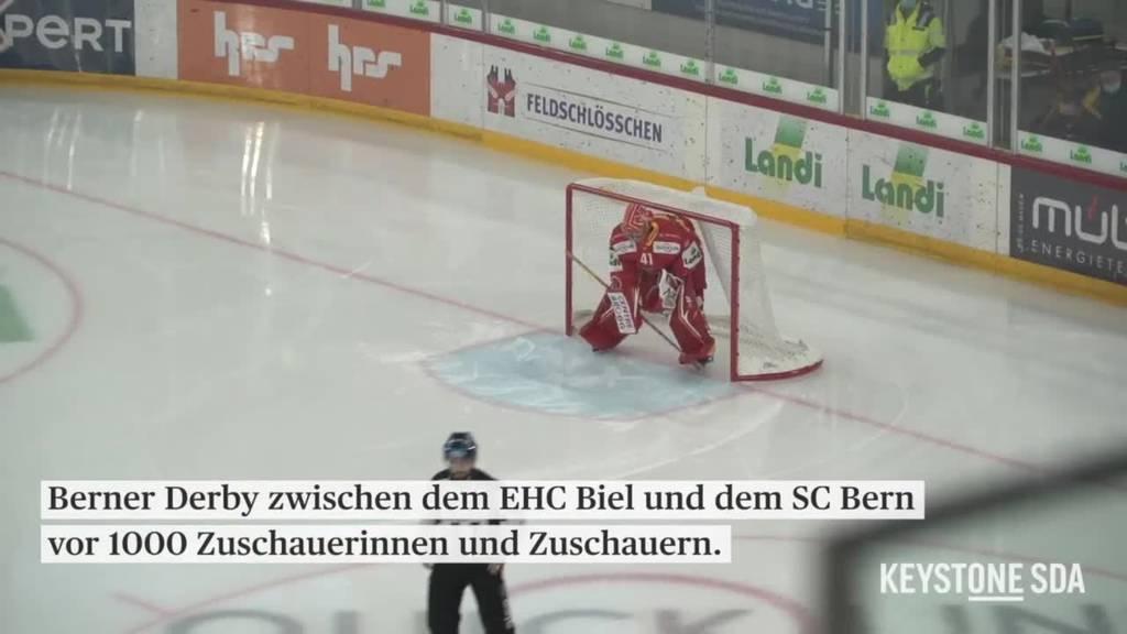 1000-Regel bei Grossveranstaltungen: Kein Verständnis bei den Eishockeyfans