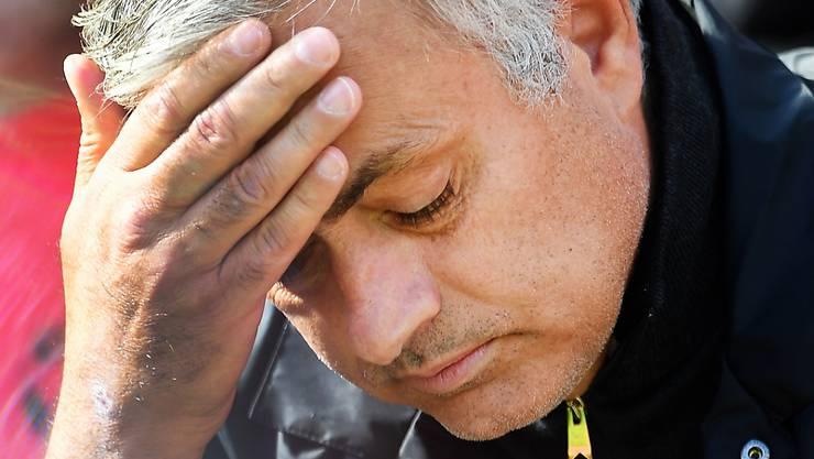Kaum noch eine Zukunft in Manchester: Startrainer José Mourinho
