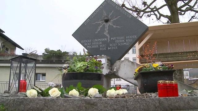 Gretzenbach gedenkt den verstorbenen Feuerwehrmännern von 2004