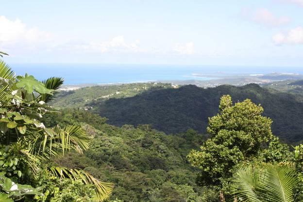 Wer sich nicht zu schaden zum wandern ist, kann einen Aussichtspunkt erreichen, wo die Sicht bis nach San Juan freiliegt.