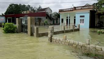 Zehntausende Häuser standen nach den Unwettern unter Wasser.