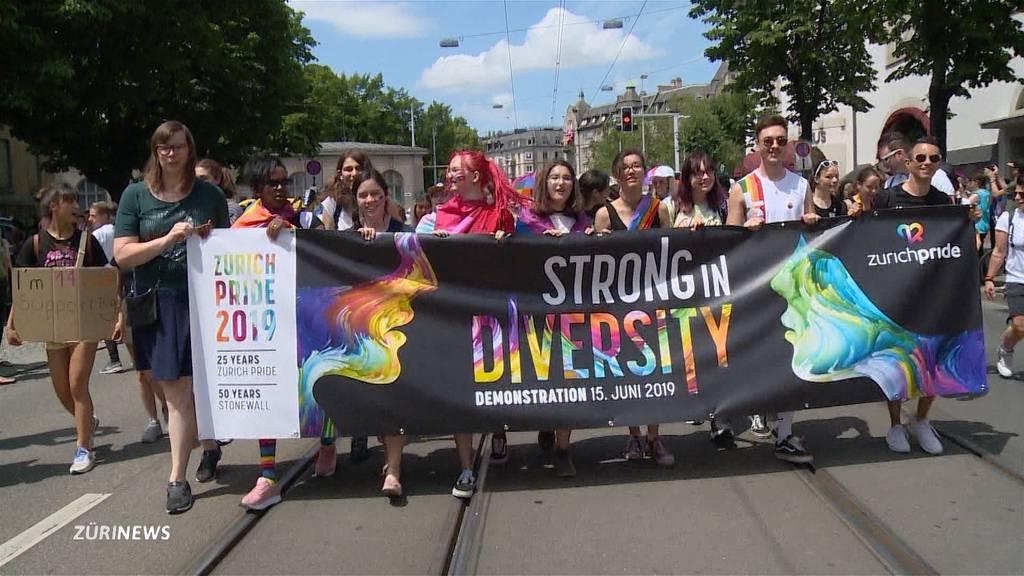 25-Jahr-Jubiläum: Volksfest Zurich Pride