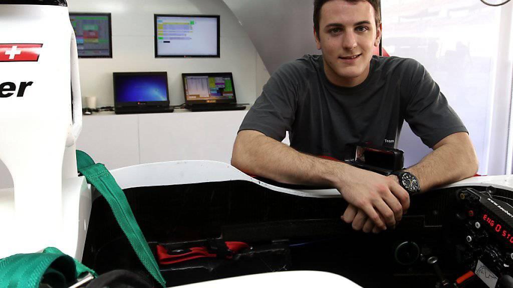 Der Schweizer Fabio Leimer hiess einer der GP2-Gesamtsieger