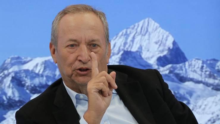 US-Ökonom Larry Summers am WEF.