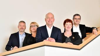 Der Stadtrat von Olten im 2019.