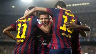 El Clasico: Der Sieg von Barcelon gegen Real Madrid in Bildern