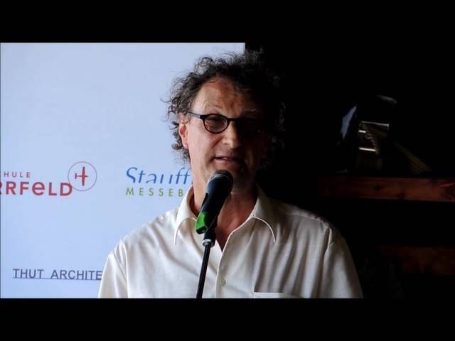 Badener Stadtammann Geri Müller spricht über sein Flugerlebnis.