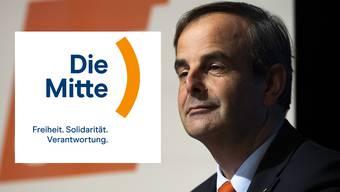 Gerhard Pfister und das neue Logo