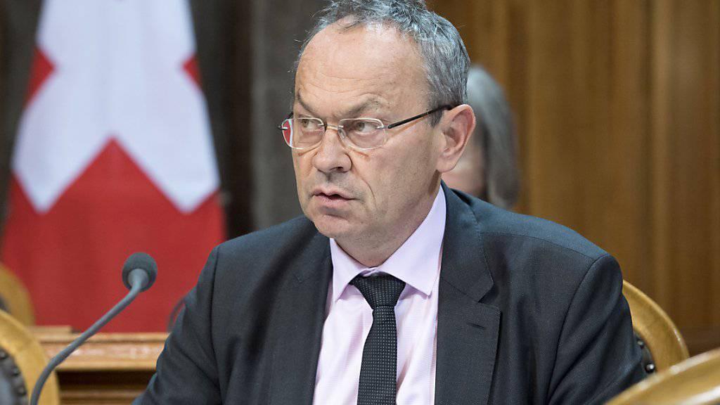 Der Waadtländer FDP-Ständerat Olivier Français kandidiert für eine zweite Amtszeit. (Archivbild)