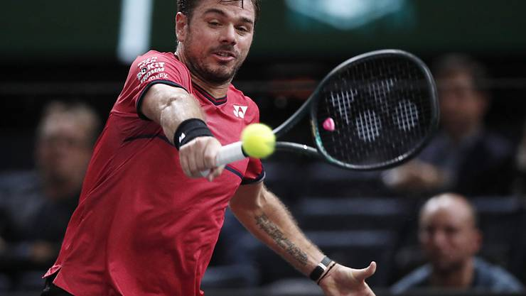 Steht in Doha ohne Satzverlust im Halbfinal: Stan Wawrinka