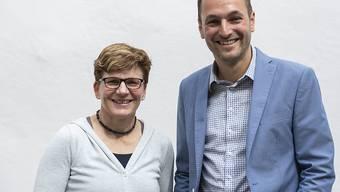 Brigitte Wolf von den Grünen und SP-Nationalrat Mathias Reynard wollen im Kanton Wallis mit Unterstützung der Christlichsozialen gemeinsam in den Ständeratswahlkampf ziehen.