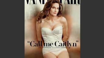 """Bruce alias Caitlyn Jenner, fotografiert von Annie Leibovitz, auf dem """"Vanity Fair""""-Cover (Archiv)"""