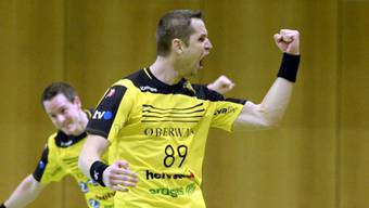 St. Otmars Spielertrainer Jan Filip erzielte acht Tore