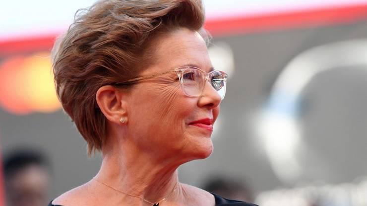Sieht einen weiten Weg bis zur Gleichstellung in der Filmbranche vor sich: US-Schauspielerin und Jury-Präsidentin am diesjährigen Filmfestival von Venedig, Annette Bening.