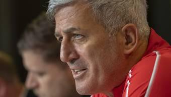 Vladimir Petkovic spricht vor dem Spiel gegen Dänemark am Samstag in Kopenhagen