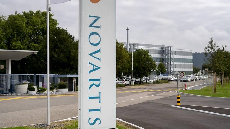 Das Pharmaunternehmen Novartis einigte sich aussergerichtlich mit den US-Ermittlungsbehörden.