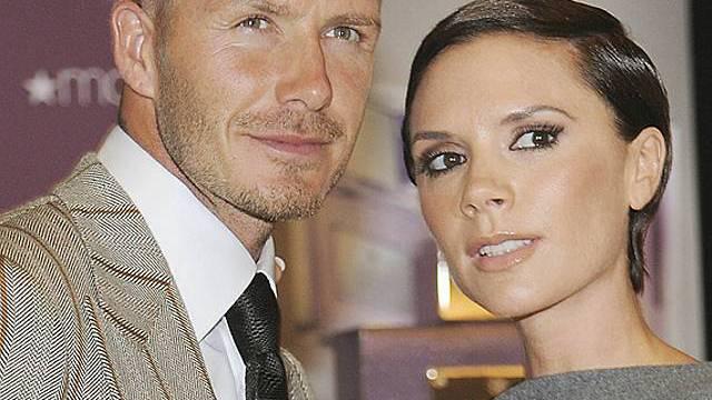 David und Victoria Beckham (Archiv)